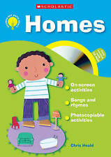 Homes (with CD Rom) (Themes for Early Years), Heald, Chris, Very Good condition,