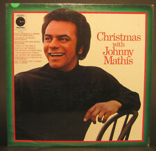 Christmas with Johnny Mathis - SEALED Columbia Records Lp 10196
