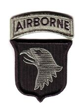"101st AIRBORNE DIVISION ""ACU Patch"" (Fabrication Actuelle)"
