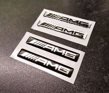 X2 AMG Logo Domed 3d effect vinyl stickers - Choice of colours