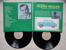 """2 LP The Members Of Glenn Miller's Orchestra """"A Memorial For Glenn Miller"""" §"""