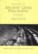 Readings In Ancient Greek Philosophy by S Marc Cohen