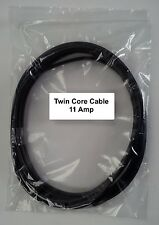 12V / 24V AUTOMOTIVE 10 METERS 11 AMP 2 CORE FLAT TWIN THIN WALL CAR CABLE WIRE