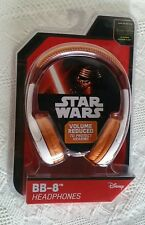 Star Wars Headphones BB -8 Disney Adjustable Lucasfilms The Force Awakens