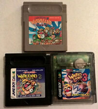 WARIO LAND 1 2 3 Nintendo Gameboy Boxed Game Cart TESTED *FREE P&P* JPN   L@@K