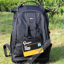 Waterproof Lowepro Flipside 400 AW DSLR Camera Backpack Padded Bag + Rain Cover