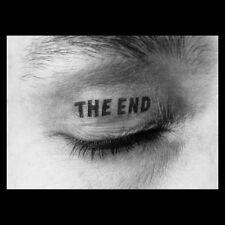 THE END Wackelbildkarte,von Timm Ulrichs signiert u. nummeriertes Multiple