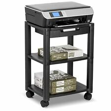 Printer Cart Desk Rolling Machine Stand Portable Printing Table Work Shipping