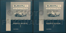 1993-1994-1995 Subaru Impreza Shop Manual Set OEM Repair Service