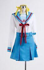 The Melancholy of Haruhi Suzumiya Cosplay Costume COS Uniform Tailored
