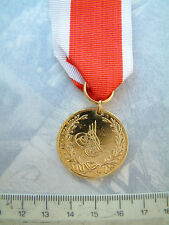 TURKEY ARMY NAVY MILITARY ST. JEAN D'ACRE GOLD MEDAL EGYPT OTTOMAN WARS