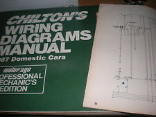 1987 DODGE DAYTONA AND SHELBY Z WIRING DIAGRAMS SCHEMATICS MANUAL SHEETS SET