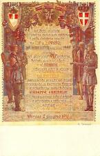 3895) VARESE 1918, RIPRODUZIONE DELLA PERGAMENA DONATA AL 91 FANTERIA.