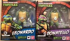 Bandai SH Figuarts Teenage Mutant Ninja Turtles DONATELLO LEONARDO TMNT Set USA