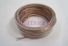 50Ft 18 AWG Gauge High Quality Home Car Audio Wire Speaker 2 Conductor Cable 50'