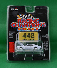 Racing Champions Mint 1969 Oldsmobile 442 W-30 #68 White Car Emblem Stand 1997