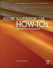 Adobe Illustrator CS4 How-Tos: 100 Essential Techniques-ExLibrary