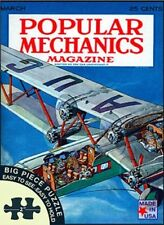 Jigsaw puzzle Popular Mechanics cover Airplane Innovation 300 piece NIB Made USA