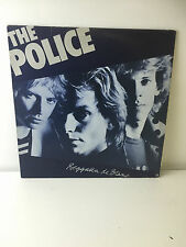 "THE POLICE REGGATTA DE BLANC - 12"" VINYL LP RECORD - GOOD CONDITION"