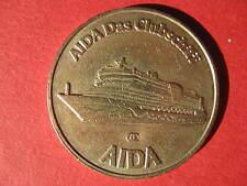 AIDA Das Clubschiff Jeton Chip Spielmarke aus AIDA-Casino / Medaille / Marke