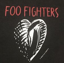 2003 FOO FIGHTERS One By One Concert Tour Band T-shirt XL - Very Worn In