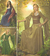 NEW! Simplicity Pattern 4940~Renaissance Maiden/Medieval Princess Gown (20-26)