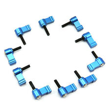10X Rotated M5 Thread Knob Screw Clamp for 15mm Rods Rail Rig Riser Support Base