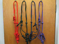 Rope Halter /  Lot Of  4  , 8 colors to choose from