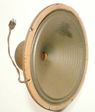 "MILLS * THRONE OF MUSIC: Tested /Works 15"" OPERADIO FIELD COIL SPEAKER w/ REPAIR"
