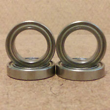 1mm bore. 681 type. 4 Radial Ball Bearing.Metal. (1 X 3 X 1)mm. Lowest Friction