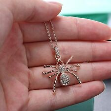 Fashion Pendant Necklace Gift Rose Gold Crystal popular Specially Jewelry Spider