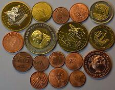 Medaillen Euro Lot Diverse Proben, Muster, Pattern - 17 Münzen Lagerauflösung