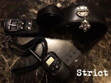 Bondage shock posture neck collar lead fetish gimp mistress HIGH QUALITY
