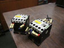 Klockner Moeller Contactor DIL EM-10-G 15A 600V Lots of 2 Used