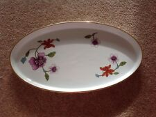 Royal Worcester 1970's Astley Pattern Large Oval Dish Tray Oven To Table Perfect