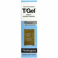 Neutrogena T/Gel 2 in 1 Anti-Dandruff Shampoo Plus conditioner, 250ml