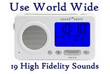 Sound Oasis S-850W = Travel Clock + White Noise Machine + Sleep Machine