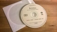 CD Pop Sting - Soul Cake (1 Song) Promo CHERRYTREE / DGG disc only  Police