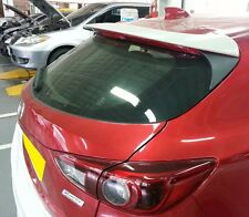 REAR TRUNK SPOILER ABS FOR MAZDA 3 2014-2015 HATCHBACK (5DR) UNPAINTED