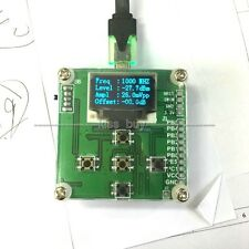 1-8000Mhz OLED Anzeige RF Power Meter -55~-5 dBm + Sofware RF Attenuation Value