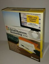 Microsoft Office Small Business Accounting 2006 NEW Retail Box version