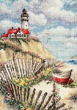 Counted Cross Stitch Kit CLIFFSIDE BEACON Dimensions Gold Collection