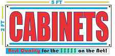 CABINETS Banner Sign NEW Larger Size Best Quality for the $$$