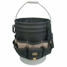 Custom Leathercraft 1119 Bucket Caddy Organizer, 48 Pocket , New, Free Shipping