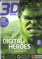 3D WORLD,  JULY, 2012  ( MAYA + MODO + SOFTIMAGE + CINEMA 4D + 3dS MAX )