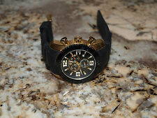 Swiss Legend Watch 20067 Men's Commander Chronograph Gold Black Dial