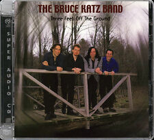 AudioQuest AQ-SACD 1056: BRUCE KATZ - Three Feet Off The Ground, 2000 USA SEALED
