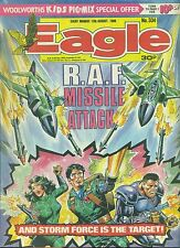 EAGLE #334 weekly British comic book August 13 1988 VG+ Action Force back cover