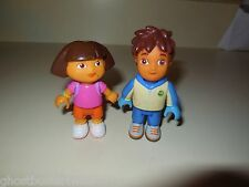 "MEGA BLOKS DORA THE EXPLORER NICK JR FIGURE DIEGO DIAGO 3"" REPLACEMENT PARTS LOT"