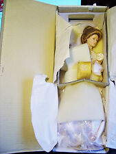 "Beautiful Franklin Heirloom Gibson Bride Doll 22"" NRFB"